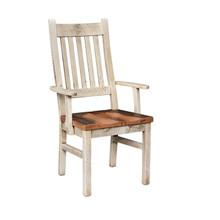 Barnwood Farmhouse Arm Chair