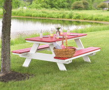 Rectangular Poly Picnic Table