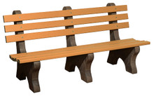 WV 905-P Poly Park Bench - 6 foot