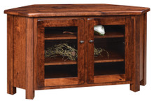 BF-5530-C Barn Floor Corner TV Stand