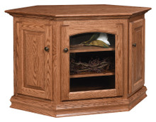 AO-48731-C Traditional Corner TV Stand