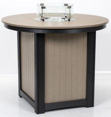 Donoma Poly-Top Counter Height Fire Table