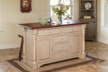 J-84A Pine Kitchen Island