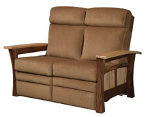 QF 8675LR Shaker Gateway Reclining Loveseat