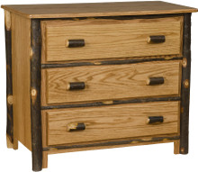 BRG Rustic 3-Drawer Chest