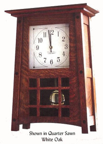 BH307 McCoy Mantle Clock