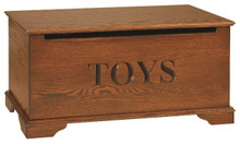 CR411-22 Oak Toy Chest