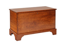 CR602-55 Savannah Qtr. Sawn White Oak Chest