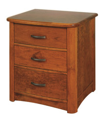 CWF521 Meridian 3-Drawer Nightstand