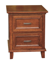 CWF624 Brooklyn Nightstand, 2-Drawer
