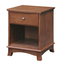 CWF725 Crescent 1-Drawer Nightstand