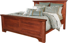 JL 107C Plymouth Cut-Out Base Queen Size Bed
