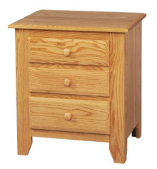 "JL 16 Shaker 24"" 3-Drawer Nightstand"