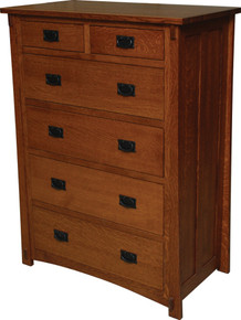 JL 511 Dutch County Mission Chest of Drawers