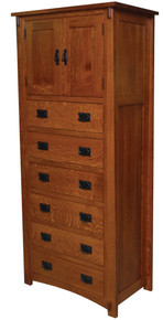 JL 515 Dutch County Mission Lingerie Chest