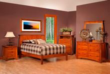 MHF Bordeaux Bedroom Suite in Rustic Cherry