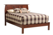 MHF Bordeaux Queen Panel Bed with Low Footboard