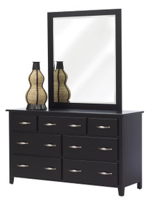 "MHF Bridge Bay 56"" Dresser with Mirror"