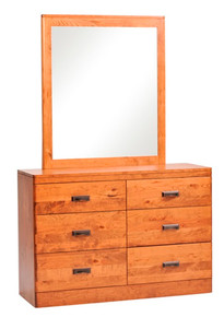 "MHF Crossan 50"" Dresser with Mirror"