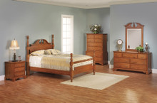 MHF Elegant River Bend Cannon Ball Bedroom Suite