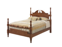 MHF Elegant River Bend Cannon Ball Queen Size Bed
