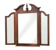 MHF Elegant River Bend Dresser Tri Mirror