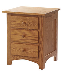 "MHF Elizabeth Lockwood 26"" Nightstand 3-Drawer"