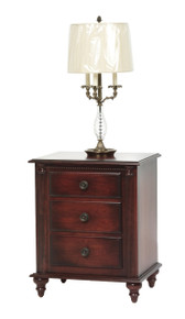 "MHF Fur Elise 24"" Nightstand 3-Drawer"