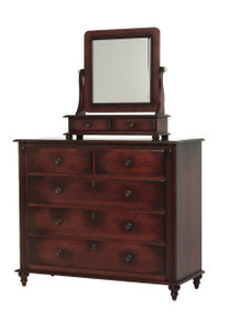 MHF Fur Elise Dressing Chest with Dressing Chest Mirror