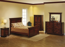 MHF Fur Elise Panel Bedroom Suite