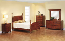 MHF Fur Elise Rolling Pin Bedroom Suite