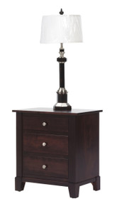 "MHF Greenwich 28"" Nightstand 3-Drawer"