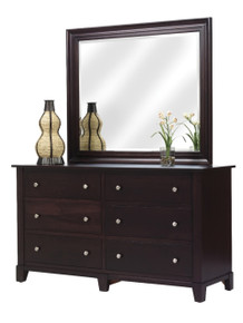 "MHF Greenwich 66"" Dresser with Dresser Mirror"