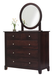 MHF Greenwich Dressing Chest with Dressing Chest Mirror