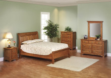 MHF Journeys End Sleigh Bedroom Suite