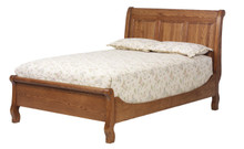 MHF Journeys End Sleigh Queen Size Bed