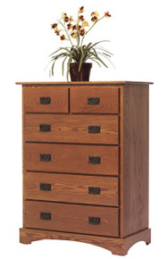MHF Old English Mission Chest of  Drawers
