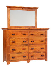 "MHF Redmond Wellington 66"" High Dresser with High Dresser Mirror"