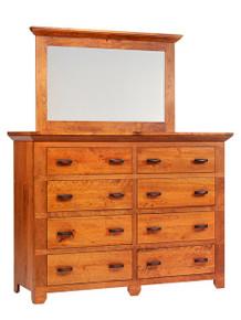 "MHF Redmond Wellington 66"" High Dresser with High Dresser Mirror"
