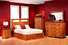 MHF Redmond Wellington Panel Bedroom Suite