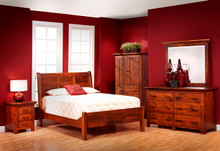 MHF Redmond Wellington Sleigh Bedroom Suite