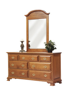 "MHF Victoria's Tradition 65"" Dresser with #51 Mirror"