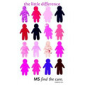 The little difference MS on Men's and Ladies t-Shirt by Susanne