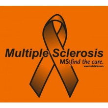 Multple Sclerosis Awareness T-Shirt by MStees-Orange
