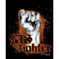 MS Fighter T-Shirt on Black Limited Edition