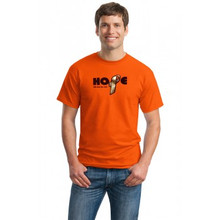 Hope with Foil Orange Multiple Sclerosis T-Shirt