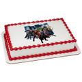AVENGERS CLASSIC READY FOR BATTLE Edible Icing Image