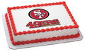 NFL San Francisco 49ers ~ Edible Icing Image