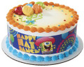 Sponge Bob Happy Dance Prints Edible Image® Strips