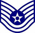 Air Force Technical Sgt Ensignia  Edible Cake Topper